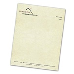 "Letterhead (8.5"" x 11""): Full Color Linen"