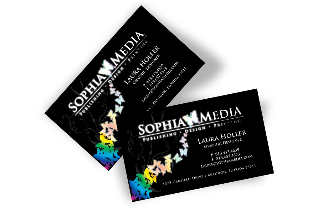 Foil business card reheart Image collections